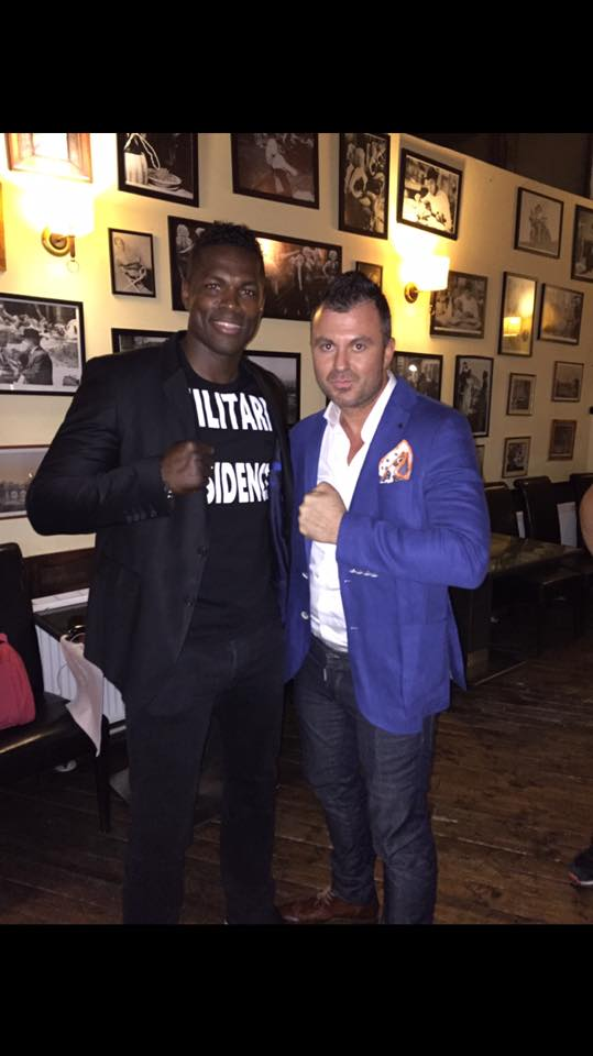 With Remy Bonjasky at Trattoria Verdi